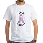Cancer Survivor White T-Shirt