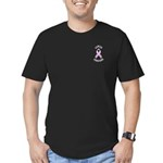 Cancer Survivor Men's Fitted T-Shirt (dark)