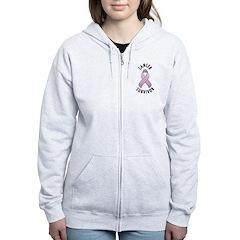 Cancer Survivor Zip Hoodie