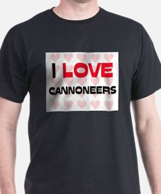 I LOVE CANNONEERS T-Shirt