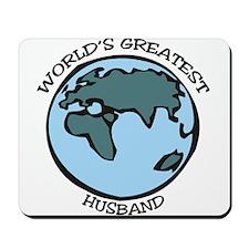 Greatest Husband Mousepad