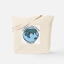 Greatest Husband Tote Bag