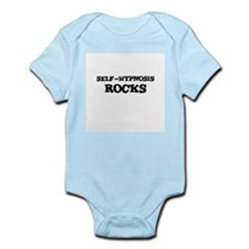 SELF-HYPNOSIS  ROCKS Infant Creeper