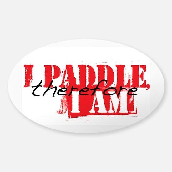iPaddlethere4iam Decal