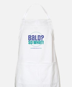 Bald So What BBQ Apron