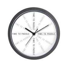 Paddler Gear Wall Clock