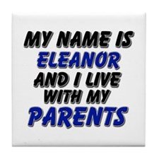my name is eleanor and I live with my parents Tile