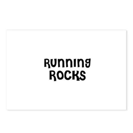 RUNNING ROCKS Postcards (Package of 8)