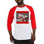 Labrador Christmas Baseball Jersey