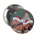 Labrador Christmas Button