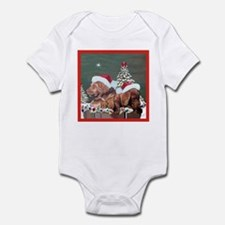Labrador Christmas Infant Creeper