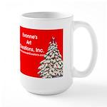 Labrador Christmas Large Mug