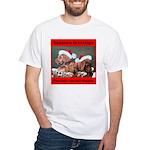 Labrador Christmas White T-Shirt
