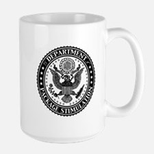 Dept of Package Stimulation Large Mug