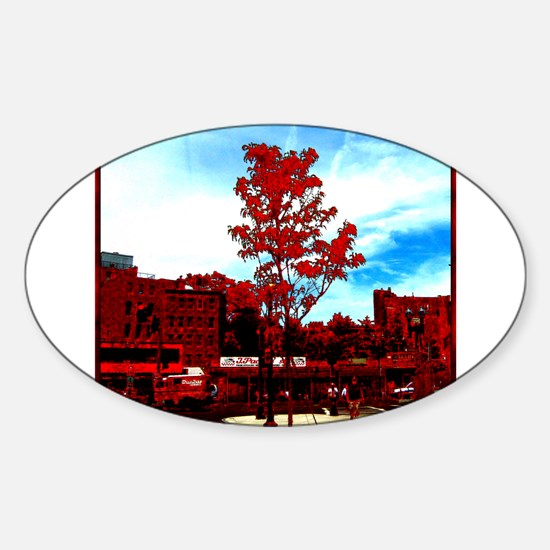 Going Home Oval Decal