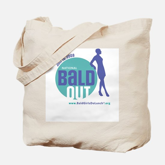 Bald Out Global Logo Tote Bag