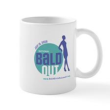 Bald Out Global Logo Mug