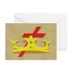 The Knight Templars Greeting Cards (Pk of 20)