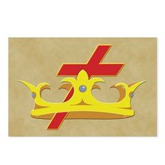 The Knight Templars Postcards (Package of 8)
