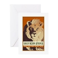 Southern Africa Greeting Card
