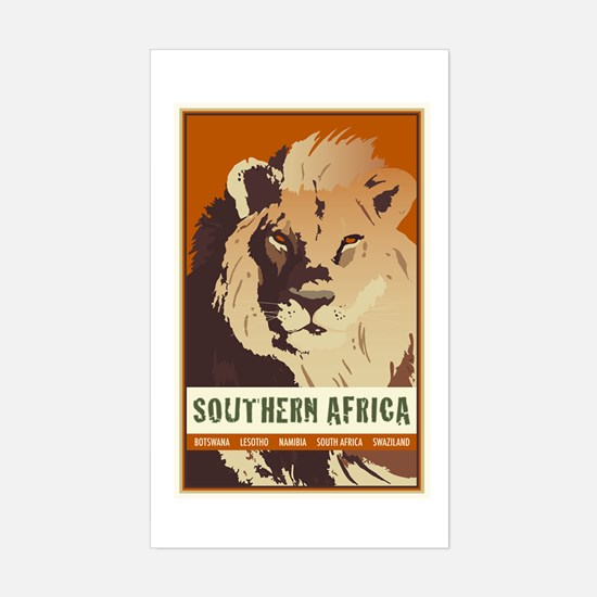 Southern Africa Rectangle Decal