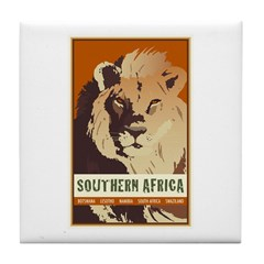 Southern Africa Tile Coaster