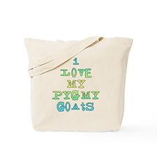 Love My Pygmy Goats Tote Bag