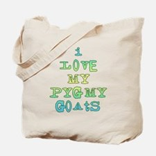 Love My Pygmy Goats Tote Bag