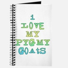 Love My Pygmy Goats Journal