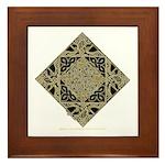 An Anam Ean Framed Tile