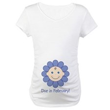 Due in February Baby Boy Shirt