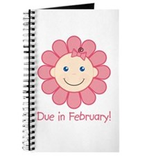 Due in February Baby Girl Journal
