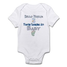 Hello World Baby C Infant Bodysuit