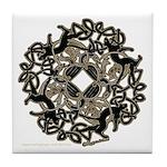 Samhain Tile Coaster