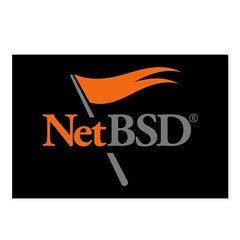 NetBSD Devotionalia Postcards (Package of 8)
