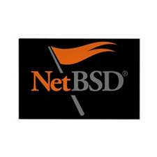 NetBSD Devotionalia Rectangle Magnet