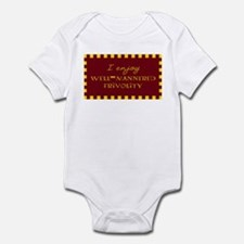 Well-Mannered Frivolity Infant Creeper