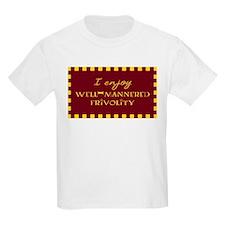Well-Mannered Frivolity Kids T-Shirt