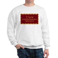 Well-Mannered Frivolity Sweatshirt