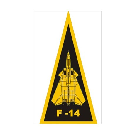 F-14 Rectangle Sticker