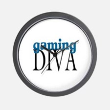 Gaming Diva Wall Clock