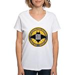 Detroit Techno Militia Women's V-Neck T-Shirt