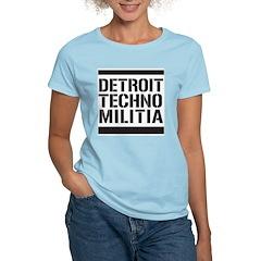 Detroit Techno Militia Women's Light T-Shirt