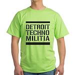 Detroit Techno Militia Green T-Shirt
