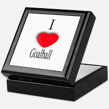 Goalball Keepsake Box