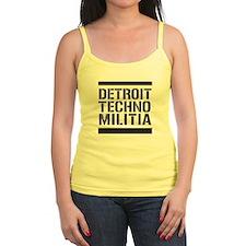 Detroit Techno Militia Jr.Spaghetti Strap