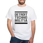 Detroit Techno Militia White T-Shirt