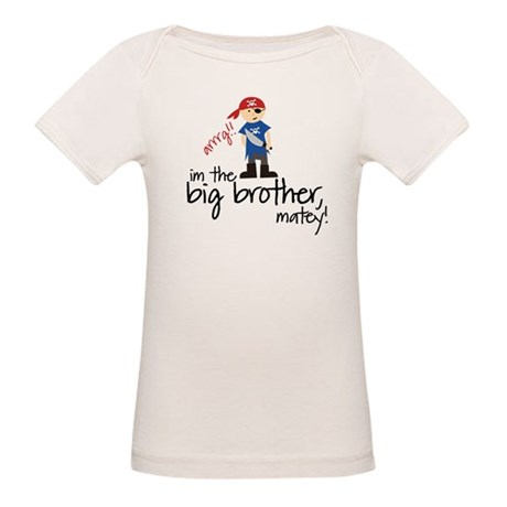 big brother shirt pirate Organic Baby T-Shirt
