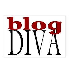 Blog Diva Postcards (Package of 8)