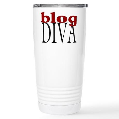 Blog Diva Stainless Steel Travel Mug